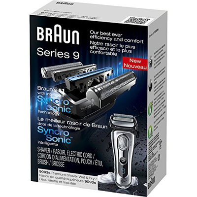 Braun Series 9 9093s Shaver Box