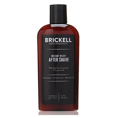 Brickell Men's Products Instant Relief Aftershave