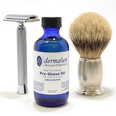 Delmalure Pre Shave Beard Shaving Oil