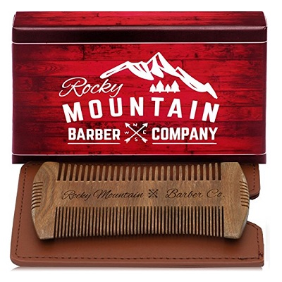 Rocky Mountain Barber Company Beard Comb