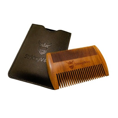 Striking Viking Wooden Beard Comb