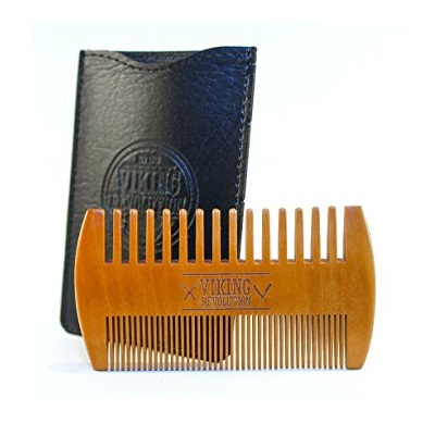 Viking Revolution Wooden Beard Comb