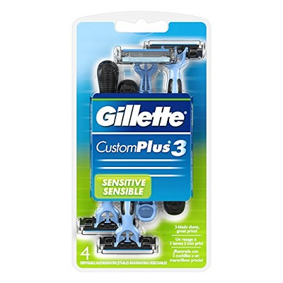 Gillette CustomPlus 3 Disposable Razor