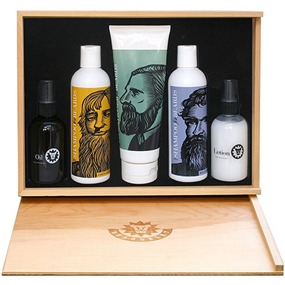 beardsley and company beard box care set