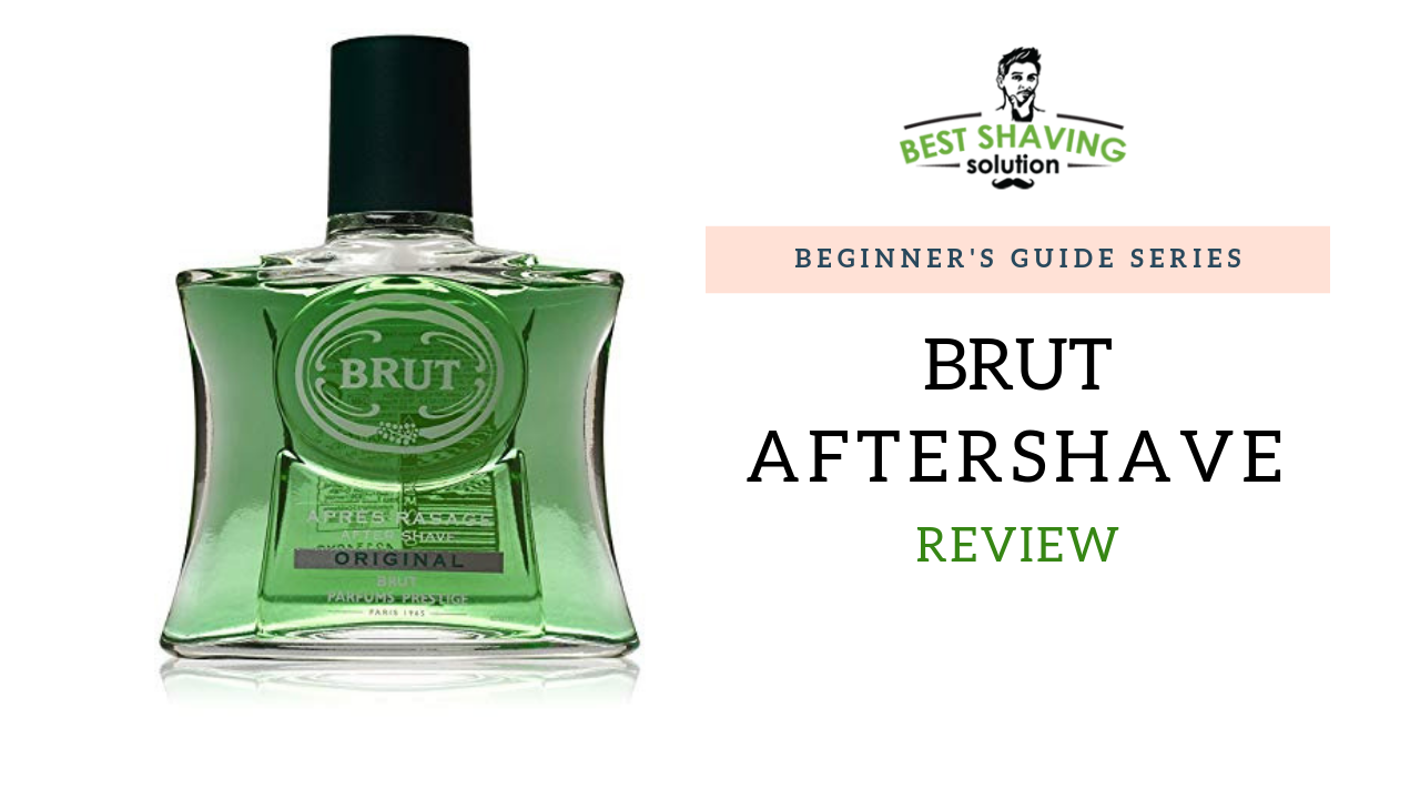 brut aftershave Contains glycerine to help calm the skin post shaving in 100ml